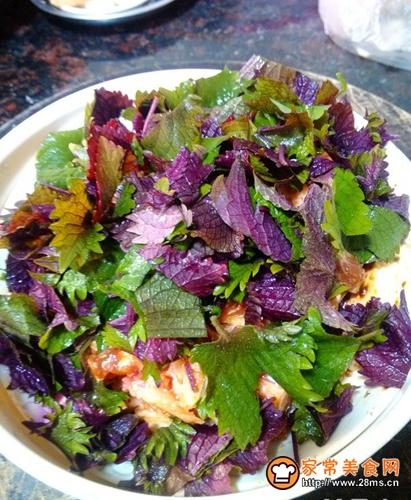 香芋紫苏蒸排骨