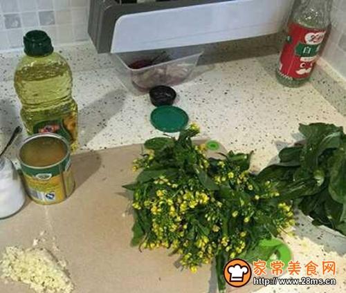 炒空心菜的家常做法 _1