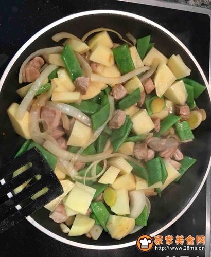土豆炒豆角