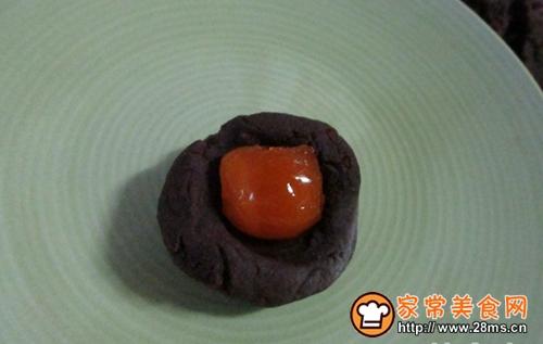 红豆蓉蛋黄酥