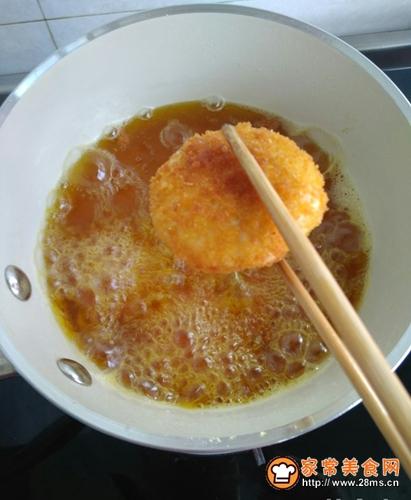 香酥山药饼