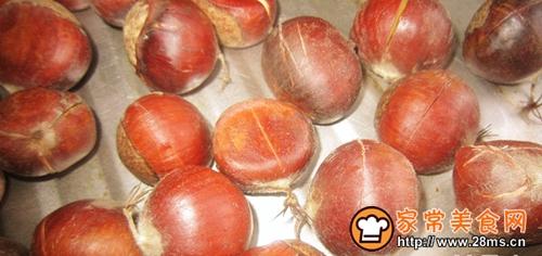 烤箱版烤栗子