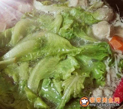 猪骨浓汤涮火锅