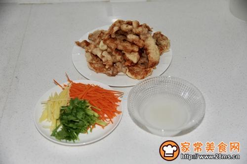 锅包肉的做法图解8