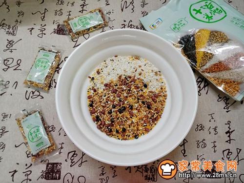 十二谷米叉烧粽的做法图解4
