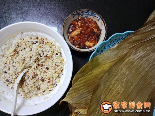 十二谷米叉烧粽的做法图解6
