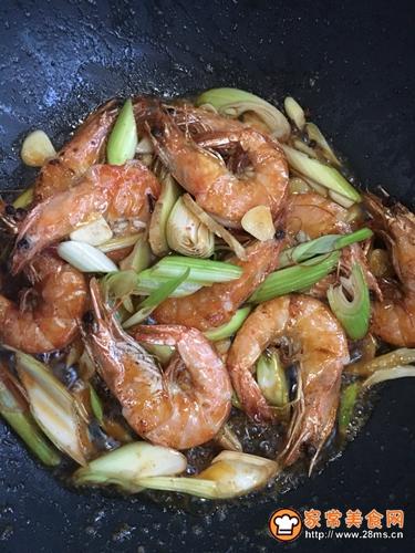 油焖大虾的做法图解3