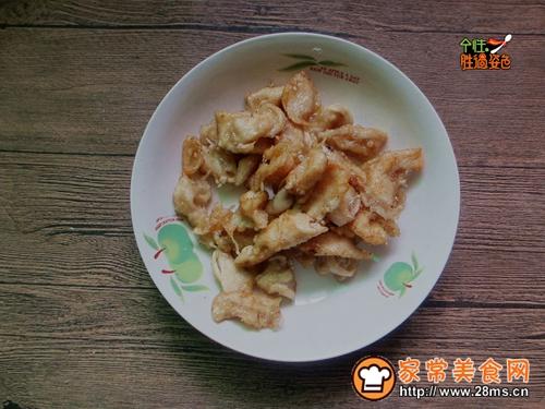茄汁锅包肉的做法图解5