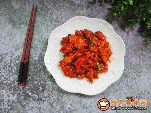 茄汁锅包肉的做法图解9