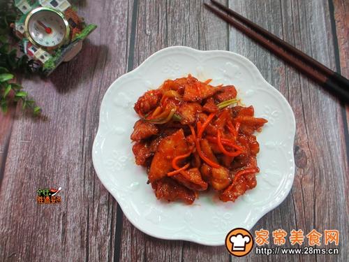 茄汁锅包肉的做法图解11