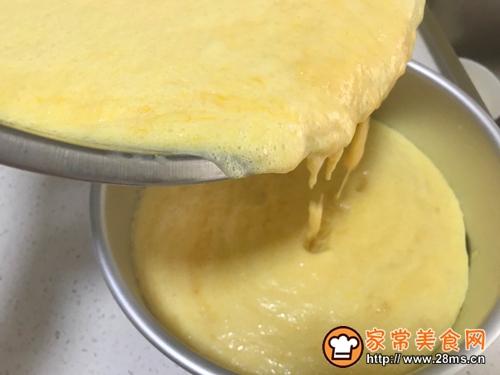 冰淇淋芒果慕斯蛋糕的做法图解10