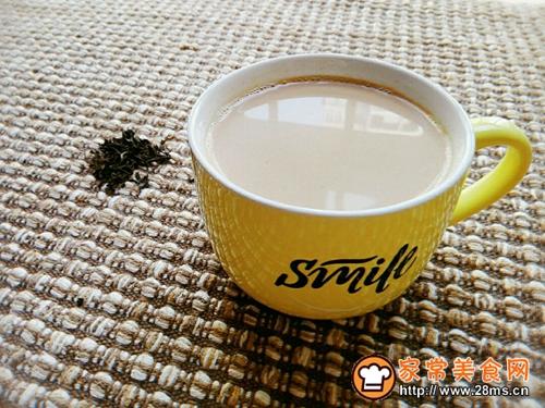 红糖海盐焦糖奶茶大红袍版的做法图解7