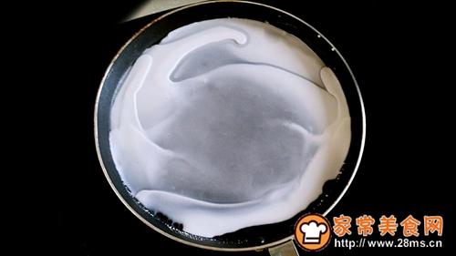 醋生麻酱蒸面皮的做法图解3