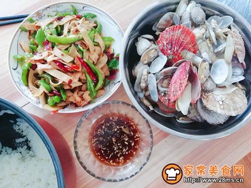 清水煮海鲜的做法图解2