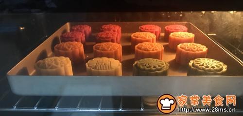 炫彩桃山皮月饼的做法