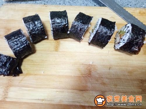 黑芝麻奥尔良鸡肉寿司的做法图解6