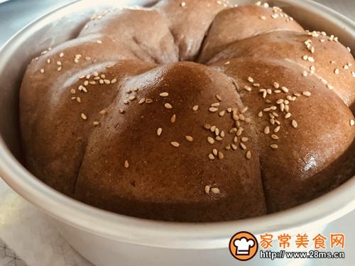 花型全麦面包的做法图解9