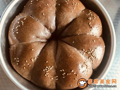 花型全麦面包的做法图解10