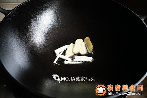 莫家码头:雪菜黄鱼面的做法图解4