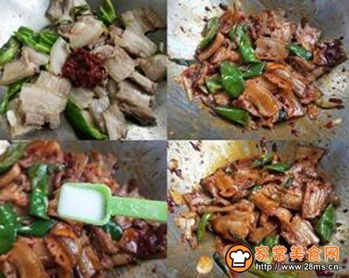 回锅肉的做法图解4