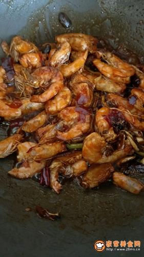 香辣虾的做法图解8