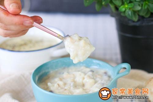 无奶油简易蘑菇汤的做法图解7