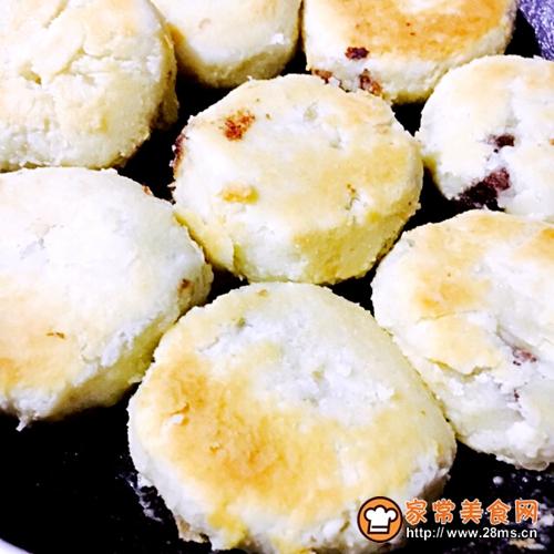 苏式月饼(平底锅版)豆沙馅儿的做法图解7