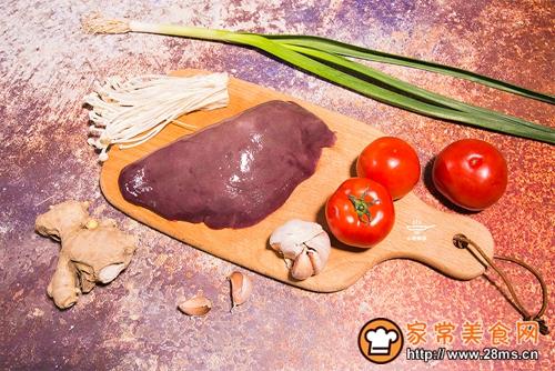 番茄猪肝浓汤的做法图解1