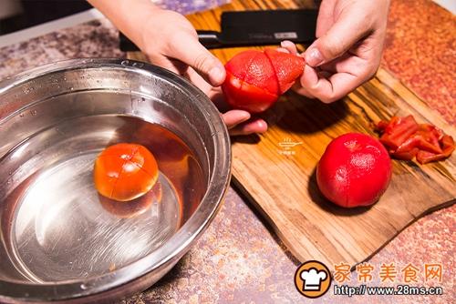 番茄猪肝浓汤的做法图解4