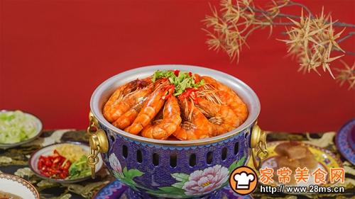 香辣虾火锅的做法图解6