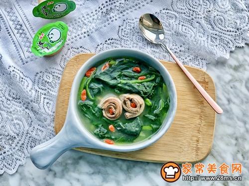 菠菜猪肝汤的做法图解11