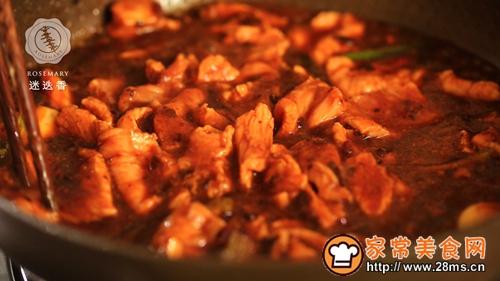 水煮肉片迷迭香的做法图解8