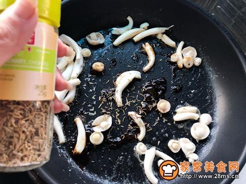 生煎芦笋白玉菇肥牛卷的做法图解10