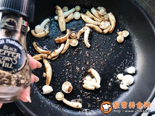 生煎芦笋白玉菇肥牛卷的做法图解11