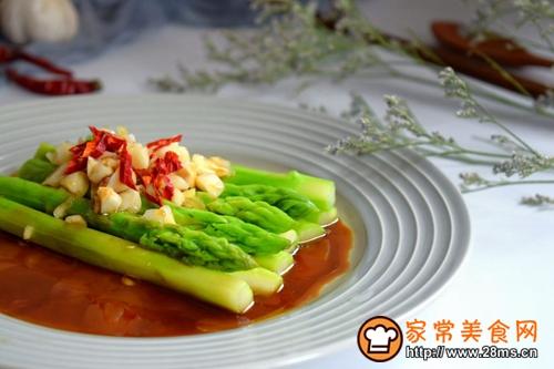 鲜味蚝油芦笋的做法图解9