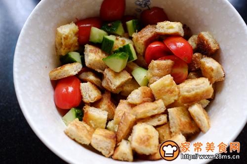 全麦吐司蔬菜沙拉的做法图解8