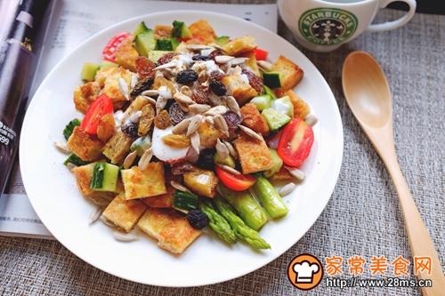 全麦吐司蔬菜沙拉的做法图解11