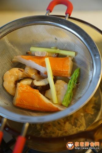 日式茶碗蒸的做法图解2