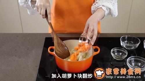 卡通鲜蔬鸡肉咖喱饭的做法图解10