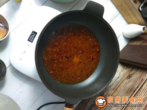 水煮肉片一锅端的做法图解4