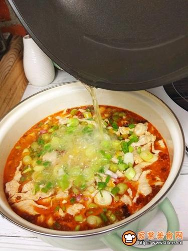 水煮肉片一锅端的做法图解7