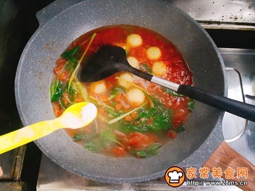 土豆丸子汤的做法图解12