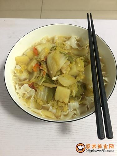 土豆白菜面的做法图解5