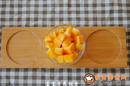 宝宝辅食南瓜虾皮豆腐煲的做法图解2