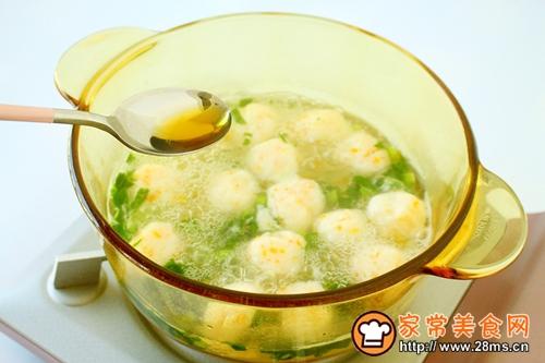 手工鱼丸蔬菜汤的做法图解9
