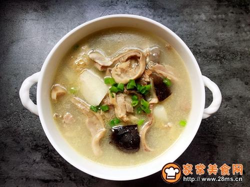 清炖土鸡猪肚汤的做法图解11