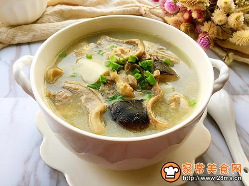清炖土鸡猪肚汤的做法图解12