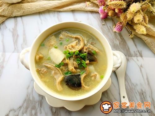 清炖土鸡猪肚汤的做法图解13