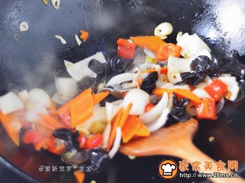 杂蔬小炒的做法图解10