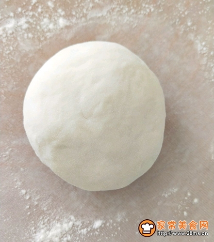 蟹味菇素馅饼的做法图解1